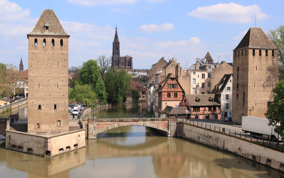 The journey begins : exploring Strasbourg for the day