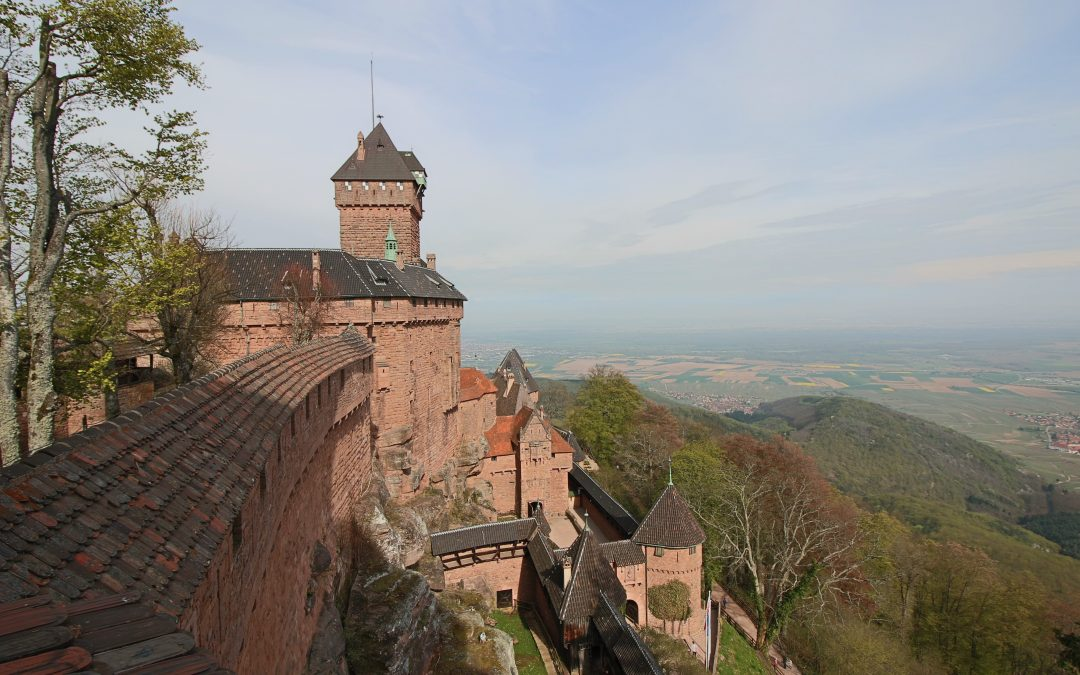 Exploring Alsace : Visit of Haut Koenigsbourg Castle and Châtenois