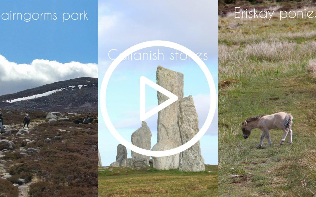 My first NextGen vlog : 1 month roadtrip around Scotland