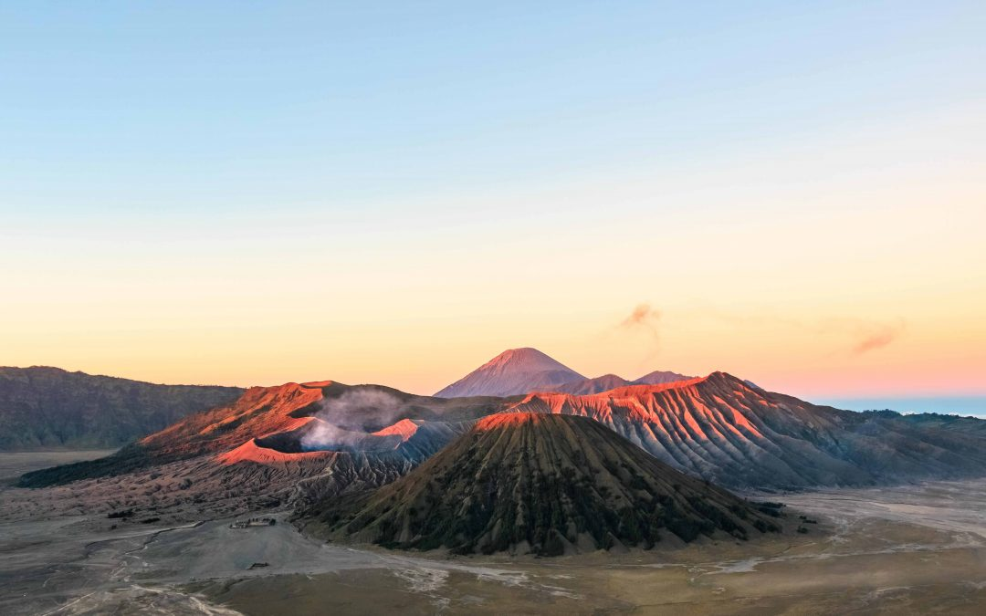 Mount Bromo volcano sunrise — East Java, Indonesia